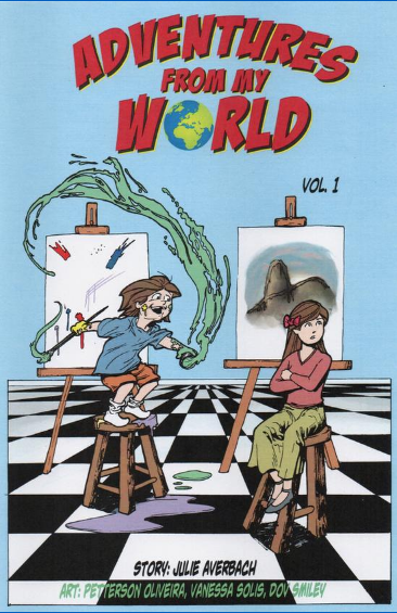 "The cover of ""Adventures from my World"""