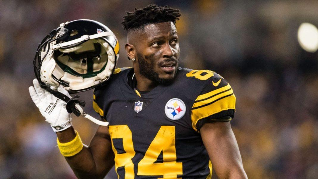 904e0e06 Antonio Brown Requests Trade from Pittsburgh Steelers | Studio 462
